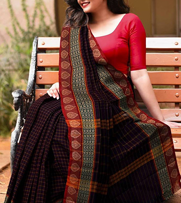 Buy Beautiful Online Designer Cotton Sarees