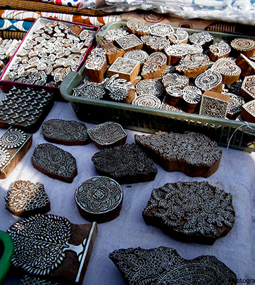 What Tools are used in Block Printing